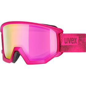 UVEX Athletic FM Uimalasit, pink mat/fullmirror pink